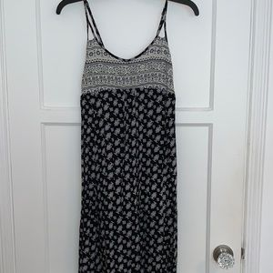 NEW Maxi spaghetti strap dress with patterns